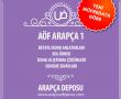 AÖF Arapça 1