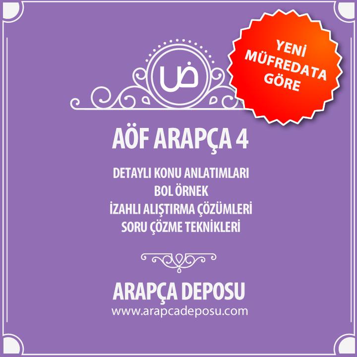 AÖF Arapça 4