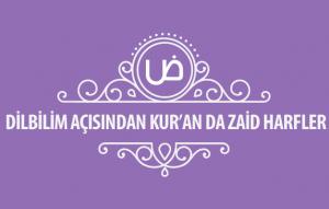 Dilbilim Açısından Kuranda Zaid Harfler Kapak