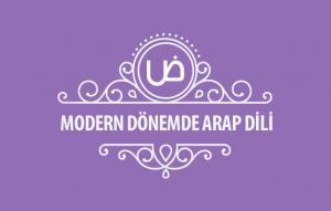 Modern Dönemde Arap Dili Kapak