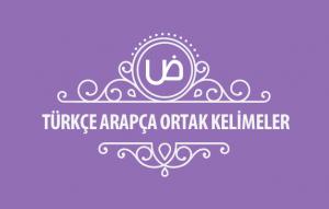 Türkce-Arapca-ortak-kelimeler