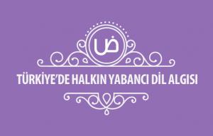 Türkiye'de Halkın Yabancı Dil Algısı Kapak