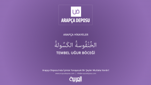 Arapça Hikayeler - Tembel Uğur Böceği